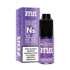 zeus BLACK RELOADED NIC SALTS 10ML